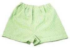 Lime Seersucker Boy Boxers by Mint (sweet little things)